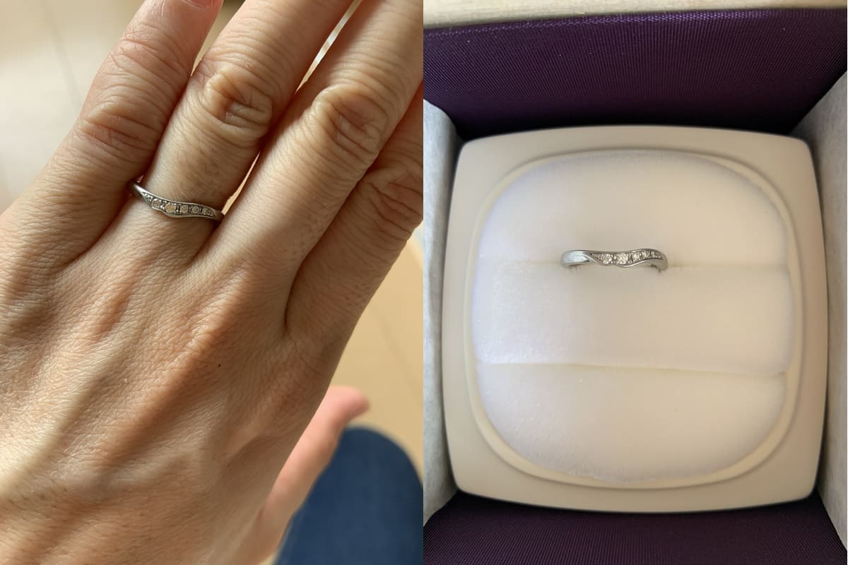 あややさんの結婚指輪(俄 NIWAKA)の口コミ