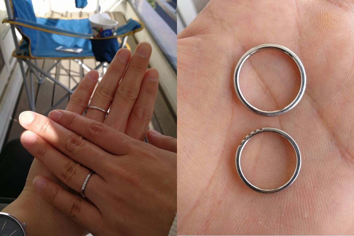 ひとみさんの結婚指輪(4°C)口コミ