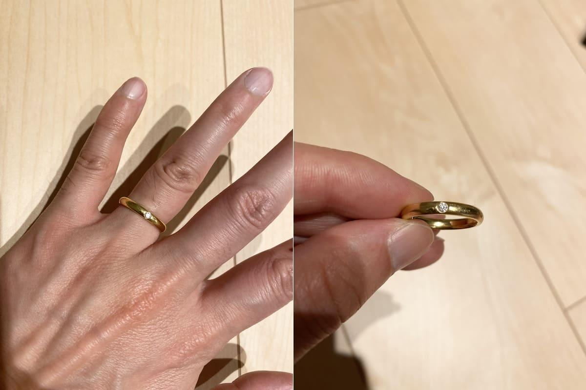 ryoさんの婚約指輪Harry Winston (ハリーウィンストン)