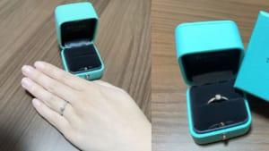 Tumuriさんの婚約指輪TIFFANY&Co. (ティファニー) の口コミ