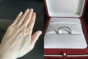takehiroさんの結婚指輪 cartier(カルティエ)の口コミ