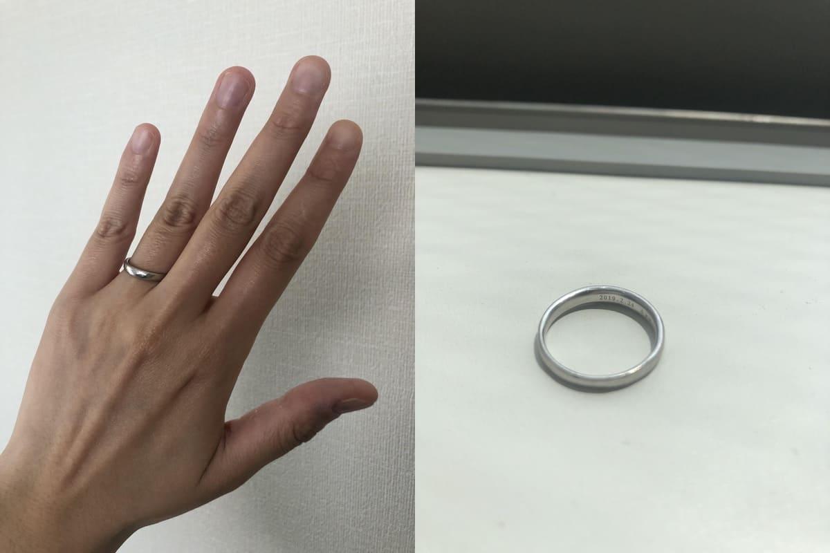 mayaさんの結婚指輪