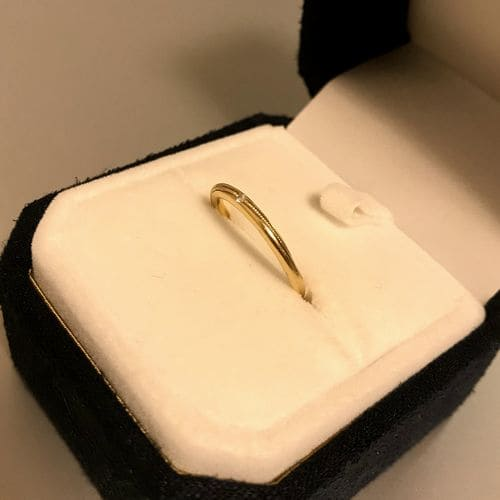 ふくながさんの結婚指輪