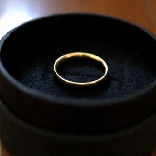 はなさんの結婚指輪