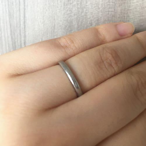 フクコさんの結婚指輪(カルティエ)