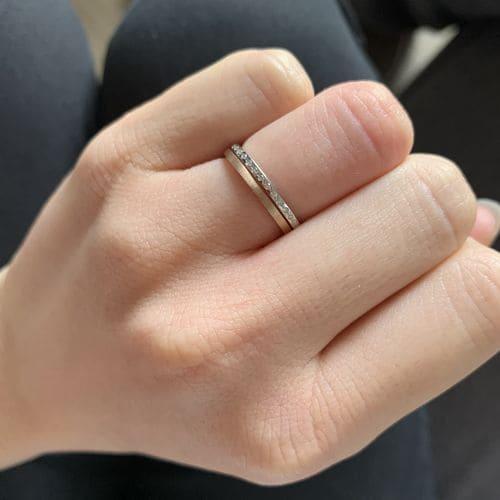 けいさんの結婚指輪LAPAGE(ラパージュ)