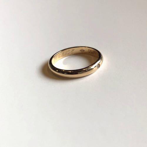 yu-eguさんの結婚指輪(カルティエ)