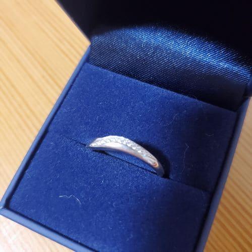 まめ大福さんの結婚指輪