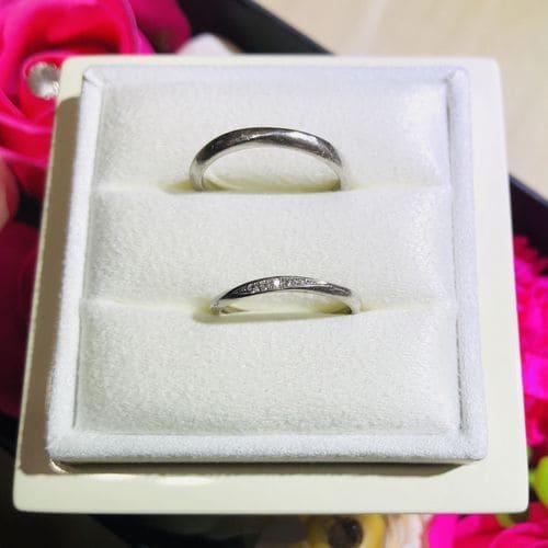 Mari-guruさんの結婚指輪