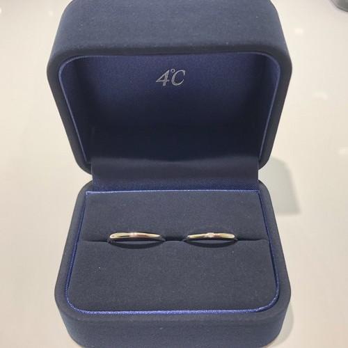 しおはじさんの結婚指輪(4℃)